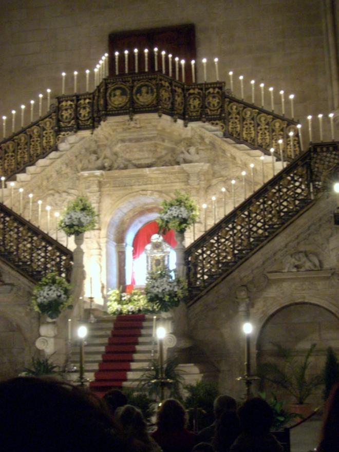 jimmy220313-semana santa burgos - monumentos - catedral01
