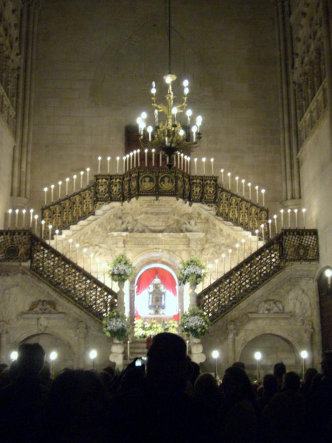 jimmy220313-semana santa burgos - monumentos - catedral02