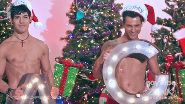 """Navidad 2014: """"Jingle bells"""" por los chicos de AndrewChristian."""