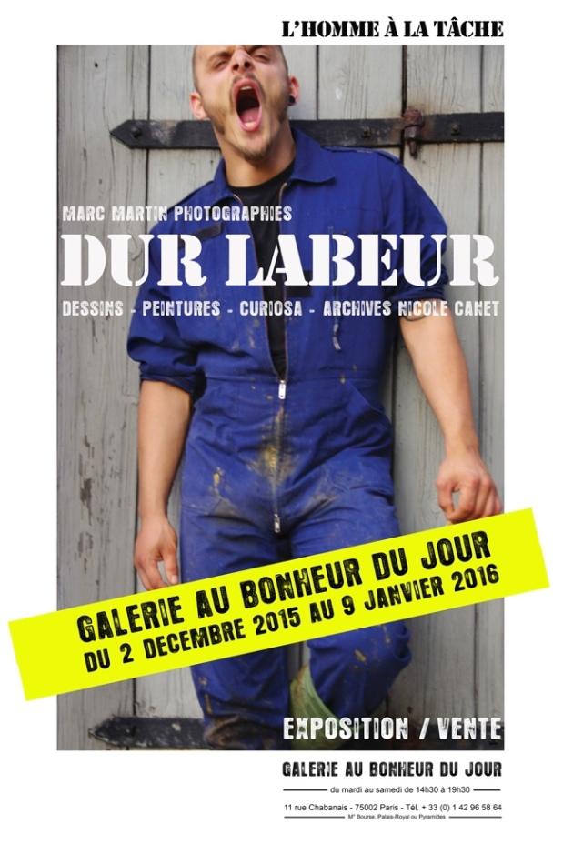 """Exposición en París. Sala """"Au bonheur duJour""""."""
