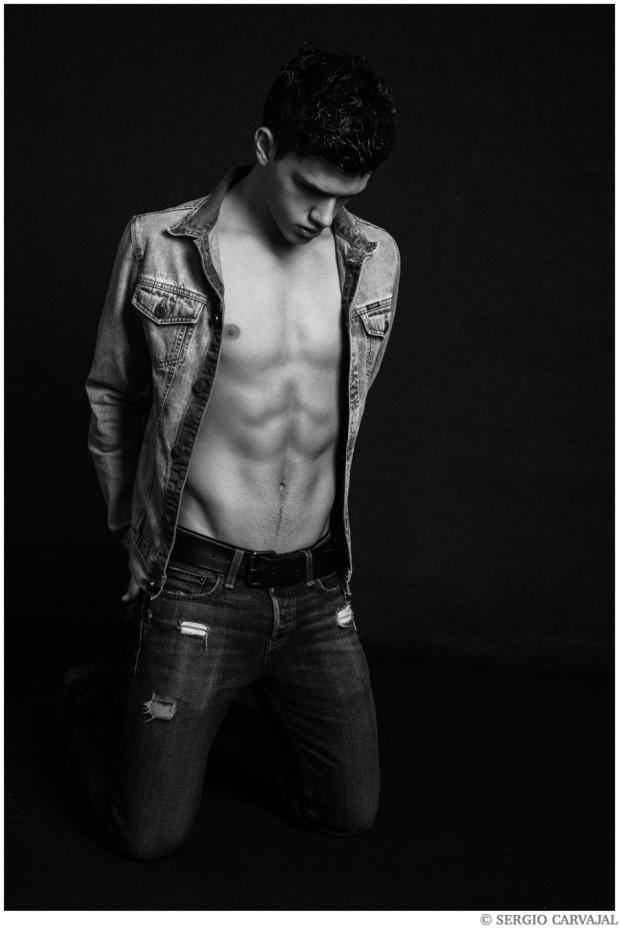Xavier Serrano, fotografiado por SergioCarvajal.